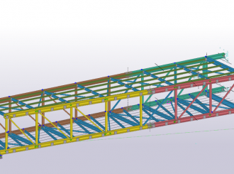 Linkbridge 3 D Model