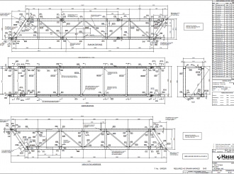 Skybridge Girder Drawing