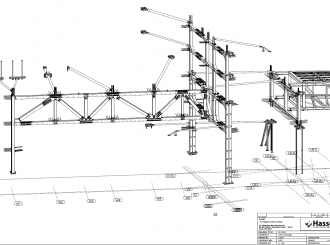 Warren Girder 3D Drawing